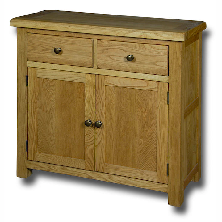Manhattan Oak 2 Drawer 2 Door Sideboard