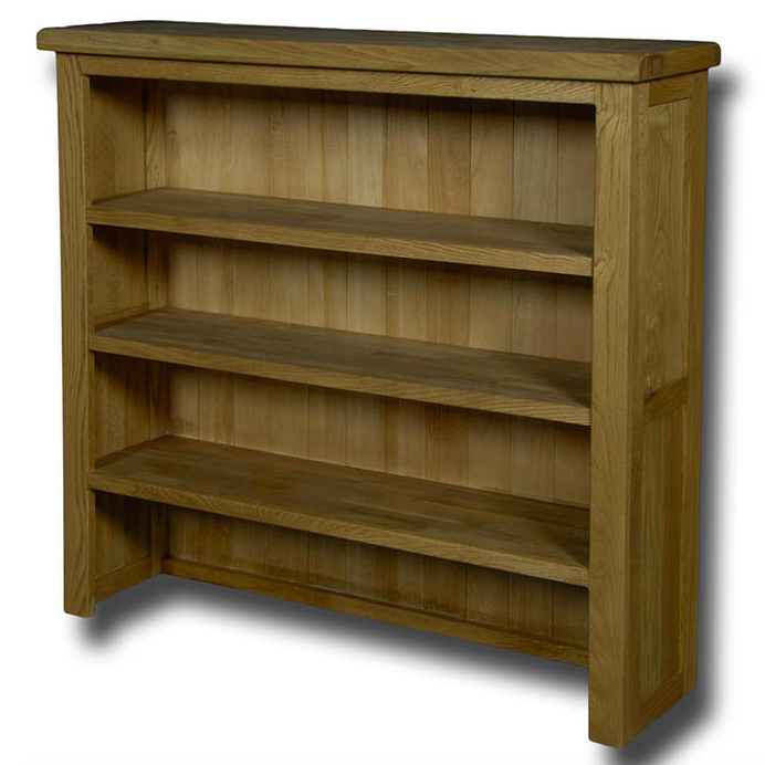 Manhattan Oak Open Shelf Dresser Top