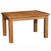 Somerset Oak Small Extending Dining Table