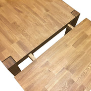 Sherwood Solid Oak 1.6m - 2.5m Extending Dining Table