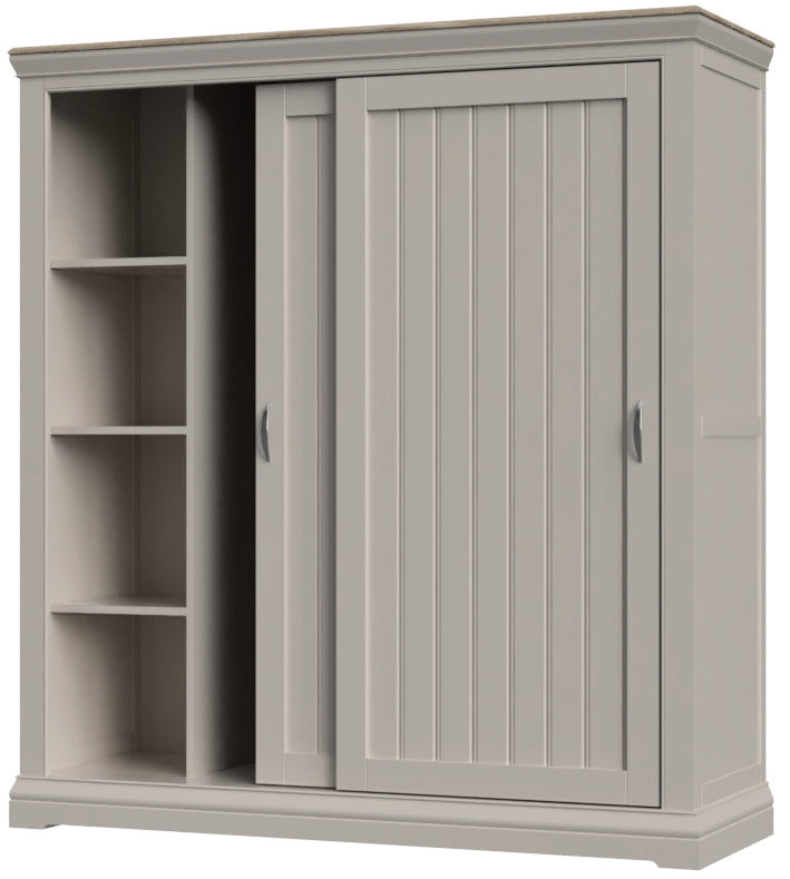 Sliding Double Wardrobe