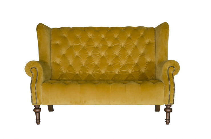 Theo High Back Sofa in Fabric