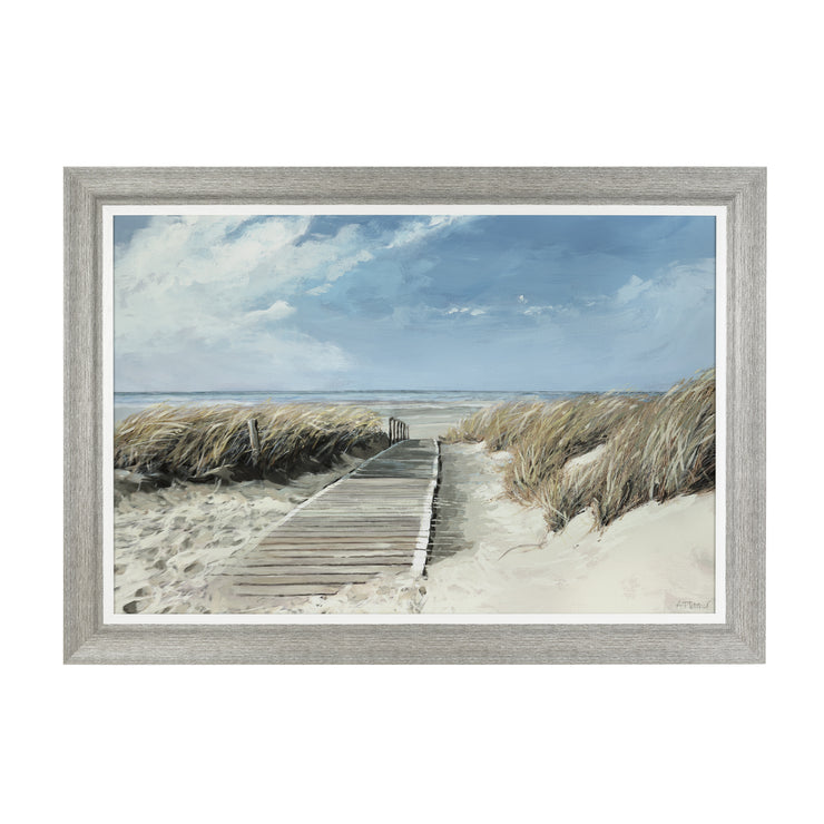 View to Sea - Framed Print