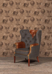 Kensington Chair - Moreland Harris Tweed