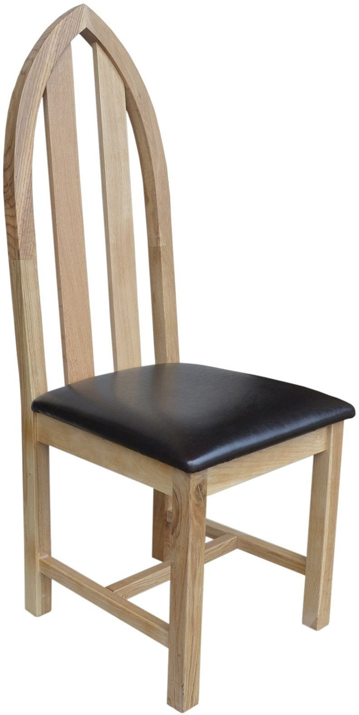 Wessex Oak Cathedral Chair