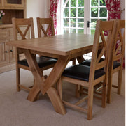 Wessex Oak Cross Back Chair