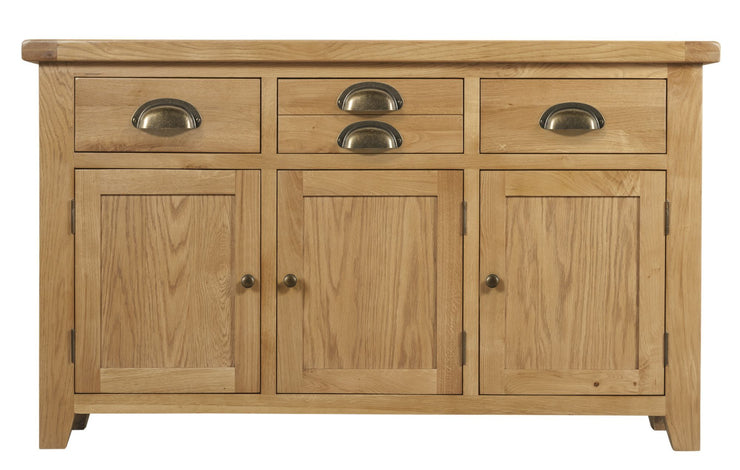 Wexford Oak 3 Door Sideboard