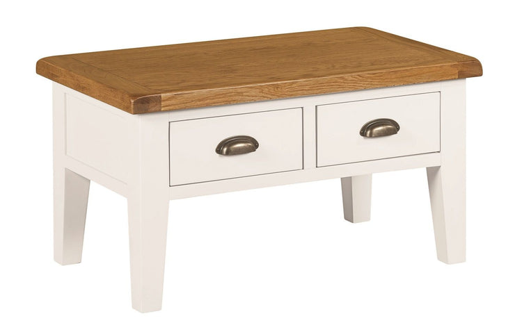 Wexford Painted Coffee Table with Drawers