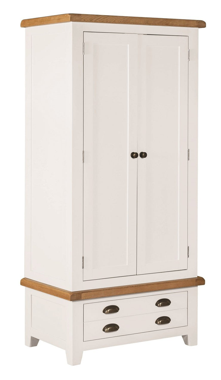 Wexford Painted Double Wardrobe with Drawer