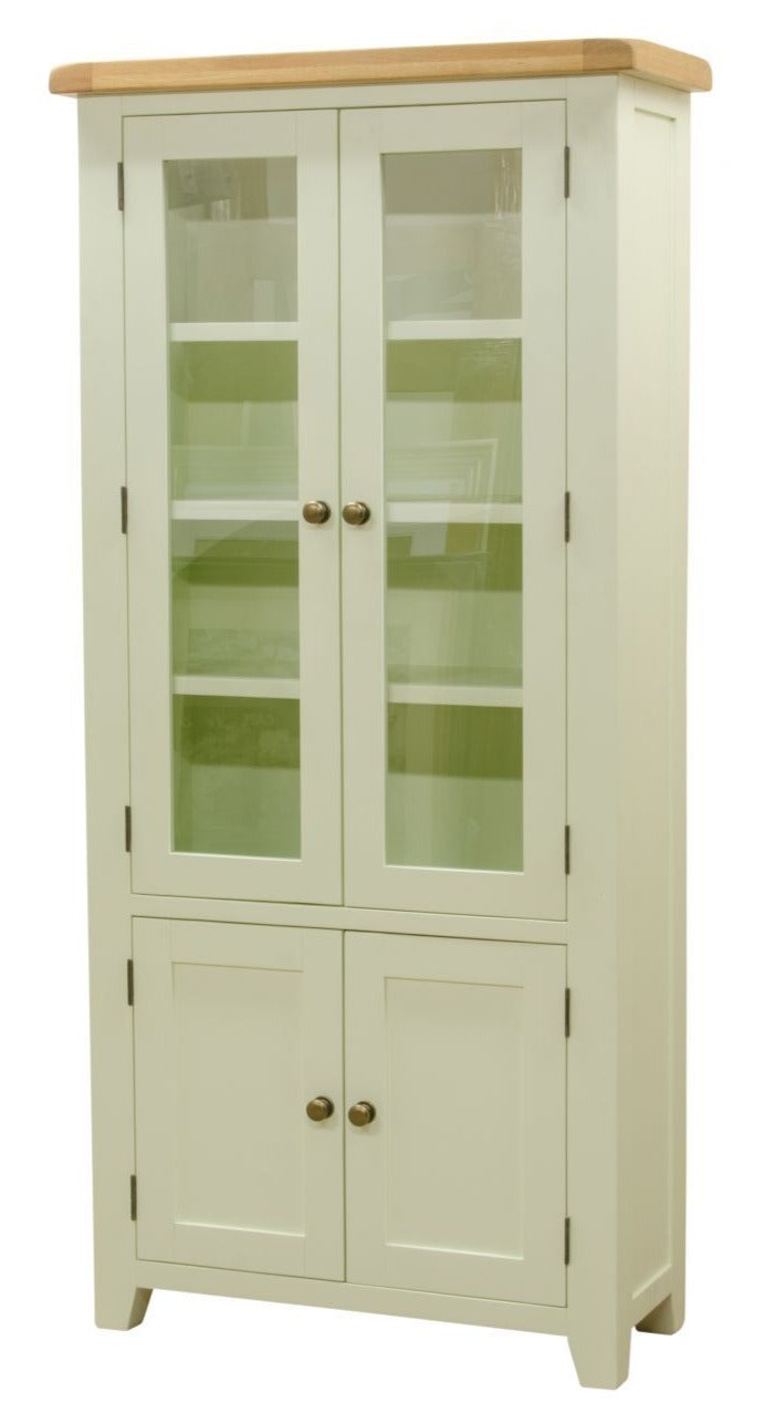 Wexford Painted Glazed Display Cabinet