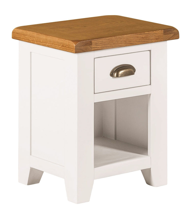 Wexford Painted Small 1 Drawer Bedside Table
