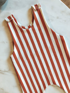 The Rusty Stripe Romper