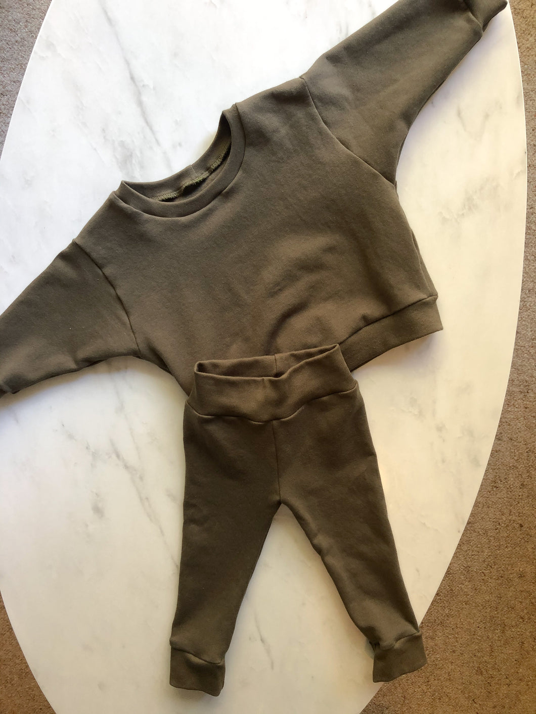 The Olive Green tracksuit