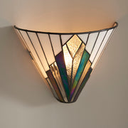 Interiors 1900 Astoria 1 Light Tiffany Wall Light - 63940