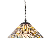 Interiors 1900 Dauphine Single Tiffany Pendant Light - 64054
