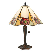 Interiors 1900 Ingram 1 Light Tiffany Table Lamp - 64184