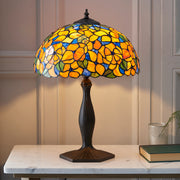 Interiors 1900 Josette 1 Light Tiffany Table Lamp - 64209
