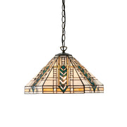 Interiors 1900 Lloyd Single Tiffany Pendant Light - 64238