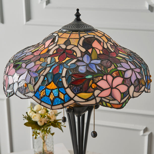 Interiors 1900 Sullivan 2 Light Tiffany Table Lamp - 64326