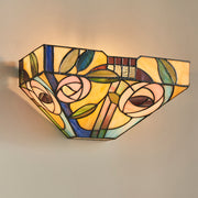 Interiors 1900 Willow 1 Light Tiffany Wall Light - 64389