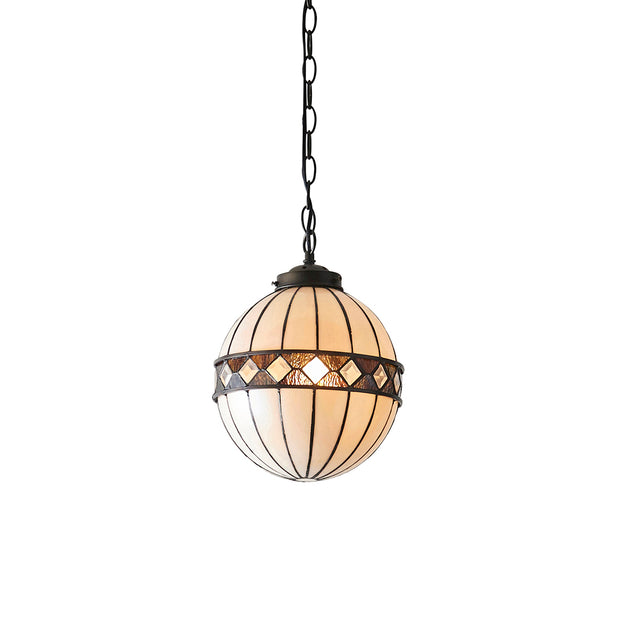 Interiors 1900 Fargo Single Tiffany Pendant Light - 67044