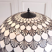 Interiors 1900 Missori 2 Light Tiffany Floor Lamp - 70370