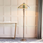 Interiors 1900 Lloyd 3 Light Tiffany Floor Lamp - 70667