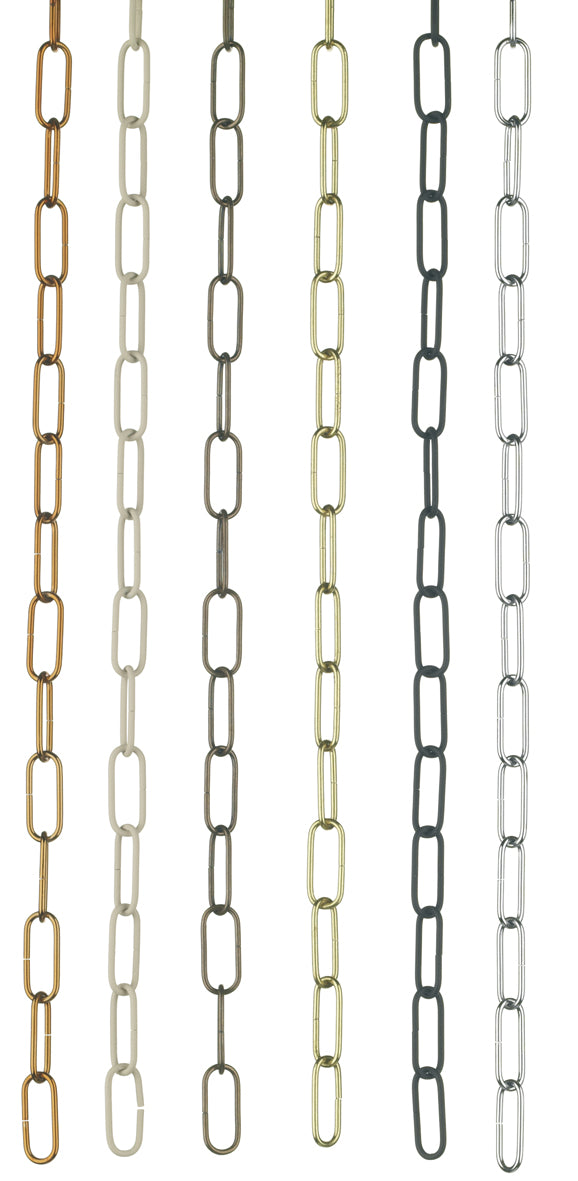 David Hunt ACC23 Spare Chain For Polished Chrome Station Pendant - 0.5 Metre