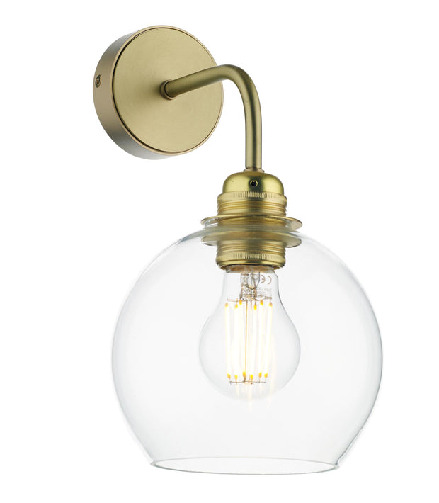 David Hunt Apollo APO0740 Butter Brass Single Wall Light