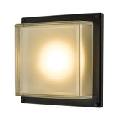 Dar Aquilina AQU2122 Exterior 9W LED Wall Light In Matt Black Finish - IP44