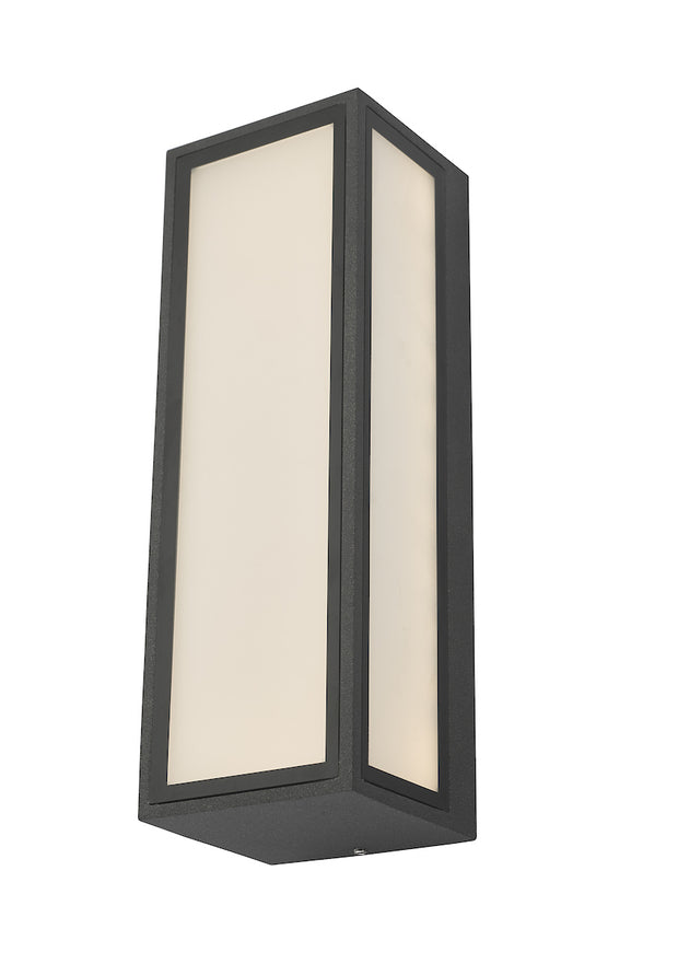 Dar Arham ARH2139 Exterior 9W LED Wall Light In Anthracite Finish - IP65