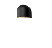Dar Egham EGH1522 Exterior Single Wall Light In Matt Black Finish - IP44