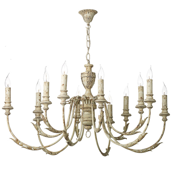 David Hunt Emile EMI1255 Rustic French 12 Light Chandelier