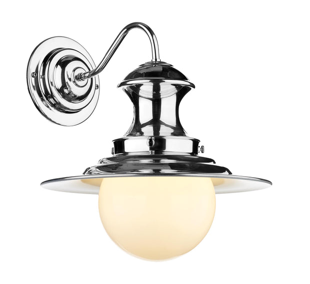 David Hunt Station EP0750 Chrome Single Wall Light