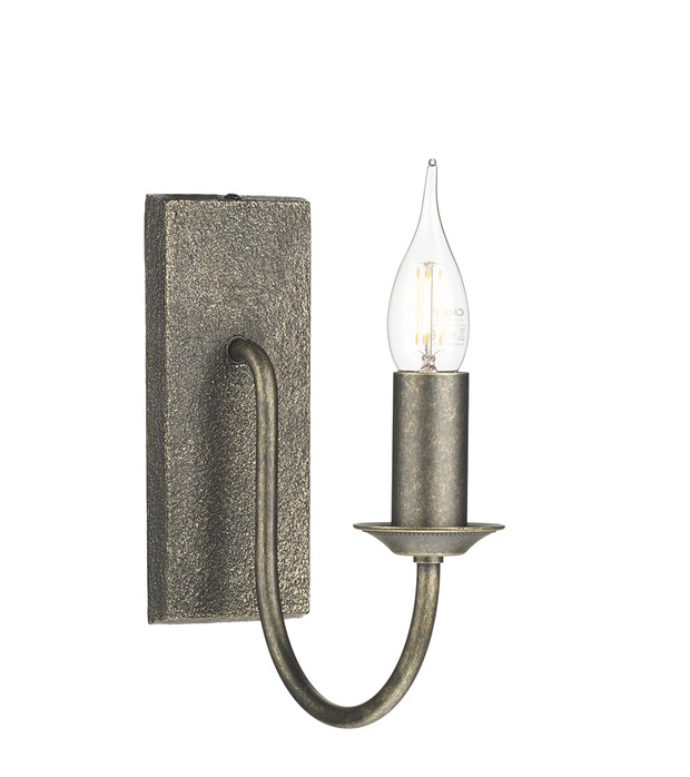David Hunt Herriot HER0763 Bronze Single Wall Light - Fitting Only