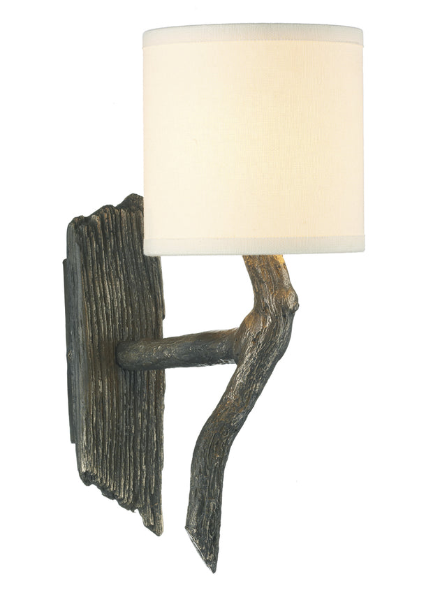 David Hunt Joshua JOS0763 Single Wall Light Complete With Cream Shade