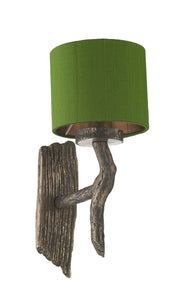 David Hunt Joshua JOS0799 Single Wall Light Complete With Shade - (Specify Shade Colour)