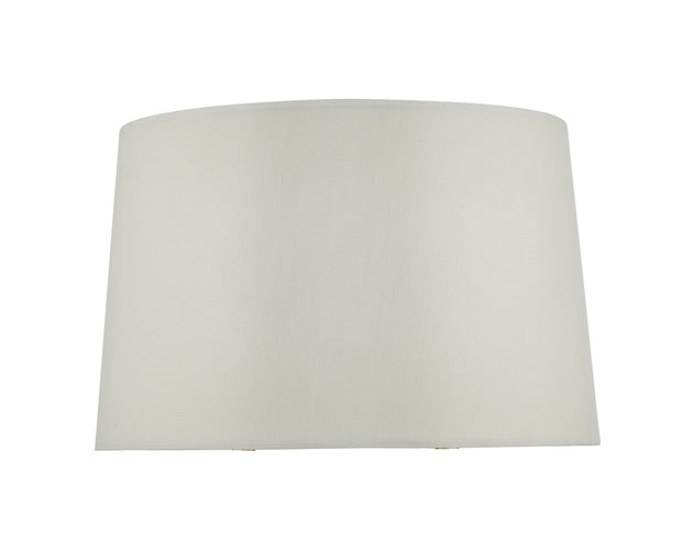 Dar Kinga KIN1215 Ivory Faux Silk Shade For KIN4235