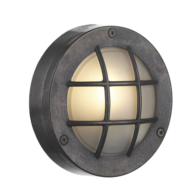 David Hunt Pembroke PEM5037 Oxidised Round Exterior Wall Light - IP44