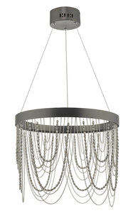 Dar Roella ROE8663 LED Pendant In Satin Bronze Finish
