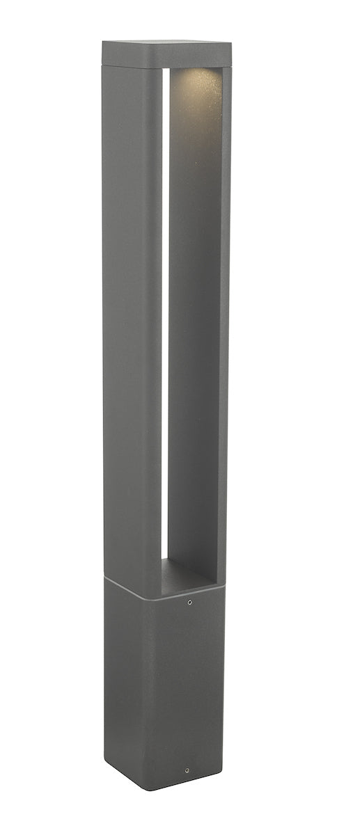 Dar Sitar SIT4539 Exterior LED Post Lamp In Anthracite Finish - IP65