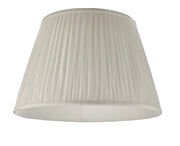 Dar Ulyana ULY1815 45cm Pleated Ivory Shade
