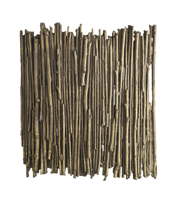 David Hunt Willow WIL0731 Gold Cocoa Wall Light