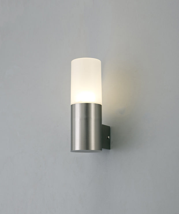 Deco Alpin D0261 Stainless Steel LED Single Exterior Wall Light - IP44 4000K
