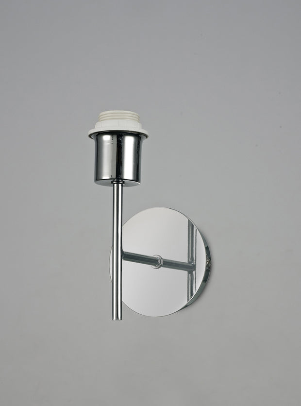 Deco Carlton D0369 Polished Chrome Single Wall Light