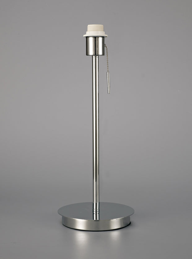 Deco Carlton D0372 Polished Chrome Large Table Lamp - Base Only
