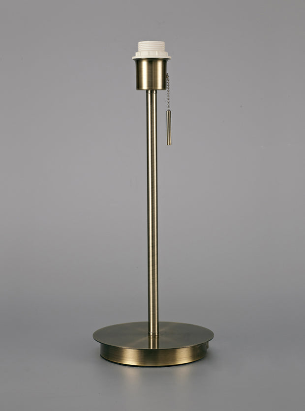 Deco Carlton D0373 Antique Brass Large Table Lamp - Base Only