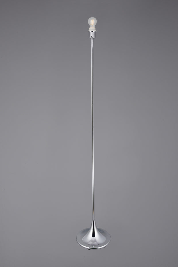 Deco Crowne D0351 Polished Chrome Floor Lamp - Base Only