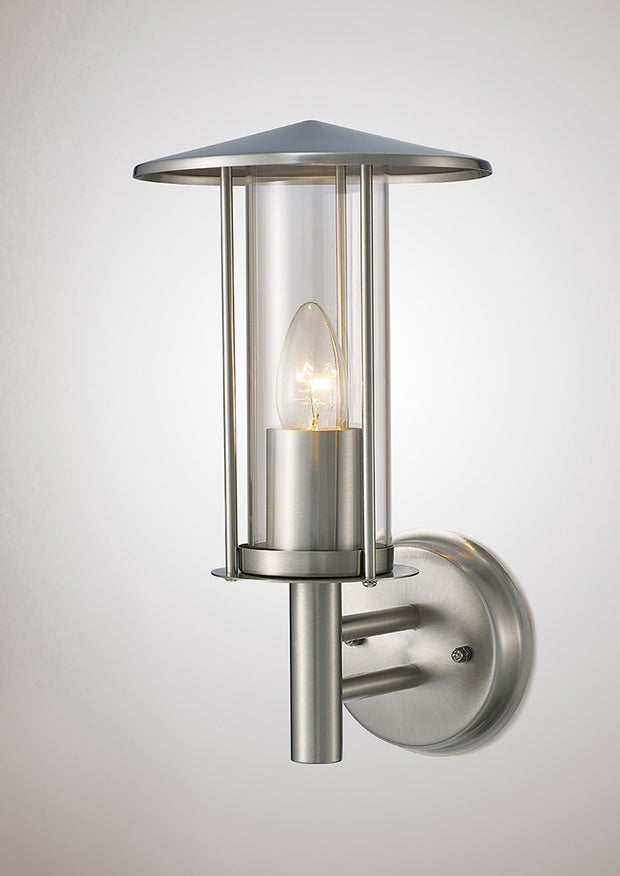 Deco Dalton D0075 Stainless Steel Exterior Wall Light - IP44