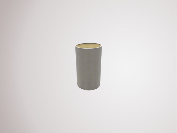 Deco Serena D0315 12cm Taupe Faux Silk Fabric Cylinder Shade With Halo Gold Inner
